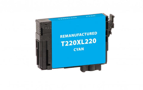 Remanufactured Cyan Epson T220220/T220XL220 Ink Cartridge | Databazaar