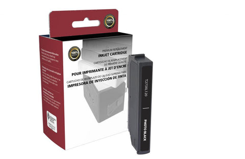 Remanufactured Remanufactured T273XL120 Photo Black Ink Cartridge