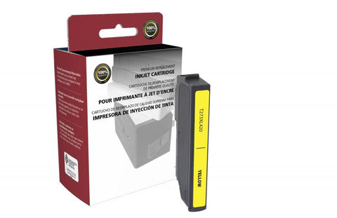 Remanufactured/Compatible Epson T273XL420 Ink Cartridge - Yellow
