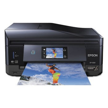 Epson Expression Premium XP-830 Wireless Small-in-One Printer, Copy/Print/Scan, Epson C11CE78201