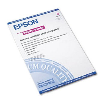 Original/Genuine Epson 11 x 17 (S041156) Glossy Photo Paper