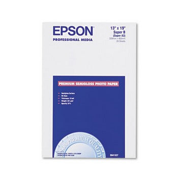 Epson 13 x 19 Semi Gloss Photo Paper (S041327)