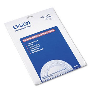 Epson Premium Semi-Gloss Photo Paper, 8.5 x 11 inch (S041331)