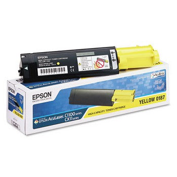 Epson S050187 Yellow, High Capacity Toner Cartridge