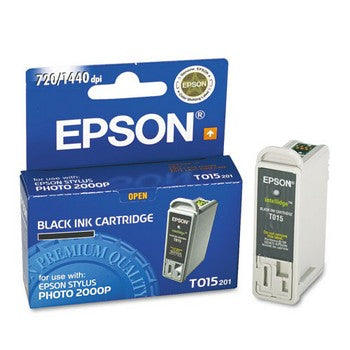Epson T015 Black Ink Cartridge, Epson T015201