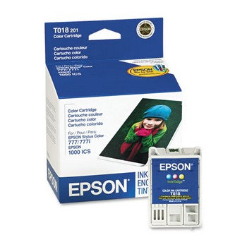 Epson T018 Color Ink Cartridge, Epson T018201