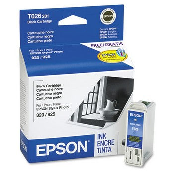 Epson T026 Black Ink Cartridge, Epson T026201