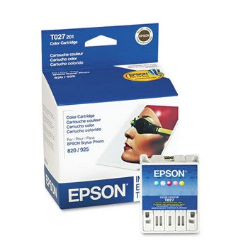 Epson T027 Color Ink Cartridge, Epson T027201