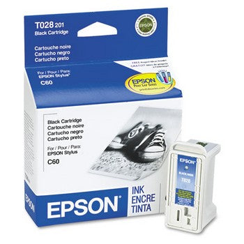 Epson T028 Black Ink Cartridge, Epson T028201