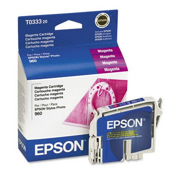 Epson T0333 Magenta Ink Cartridge, Epson T033320