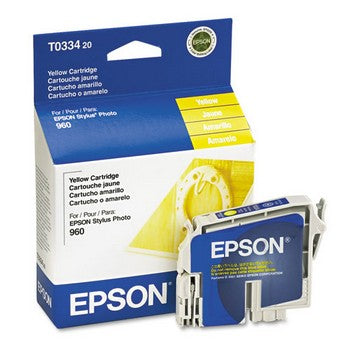 Epson T0334 Yellow Ink Cartridge, Epson T033420