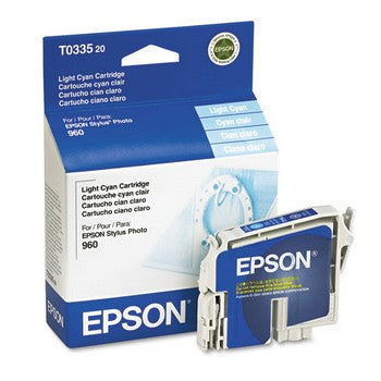 Epson T0335 Light Cyan Ink Cartridge, Epson T033520