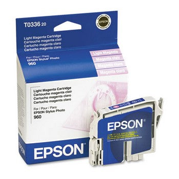Epson T0336 Light Magenta Ink Cartridge, Epson T033620