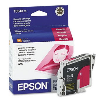 Epson T0343 Magenta Ink Cartridge, Epson T034320