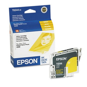 Epson T0344 Yellow Ink Cartridge, Epson T034420