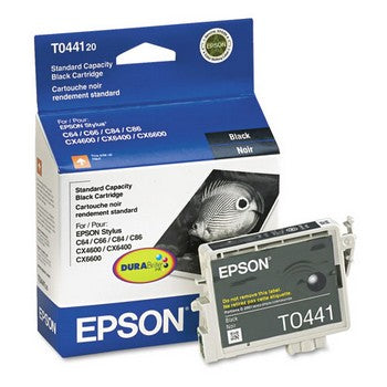 Epson T044 Black Ink Cartridge, Epson T044120
