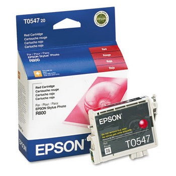 Epson T0547 Red Ink Cartridge, Epson T054720