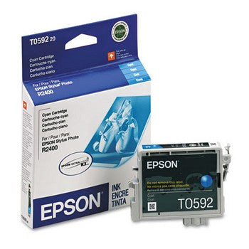 Epson T0592 Cyan Ink Cartridge, Epson T059220