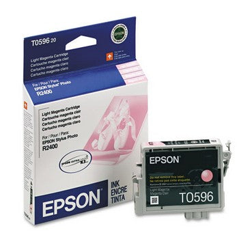 Epson T0596 Light Magenta Ink Cartridge, Epson T059620