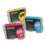 Epson 69 Color, Multi Pack Ink Cartridge, Epson T069520
