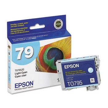 Epson 79 Light Cyan Ink Cartridge, Epson T079520