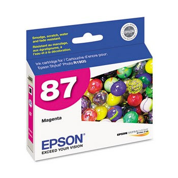 Epson 87 Magenta Ink Cartridge, Epson T087320