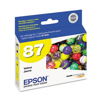 Epson 87 Yellow Ink Cartridge, Epson T087420