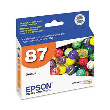 Epson 87 Orange Ink Cartridge, Epson T087920