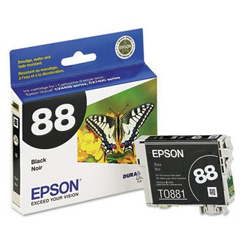 Epson 88 Black Ink Cartridge, Epson T088120