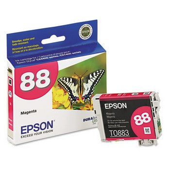 Epson 88 Magenta Ink Cartridge, Epson T088320