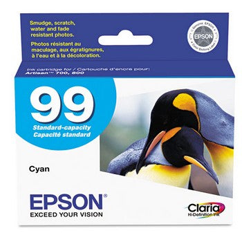 Epson 99 Cyan Ink Cartridge, Epson T099220