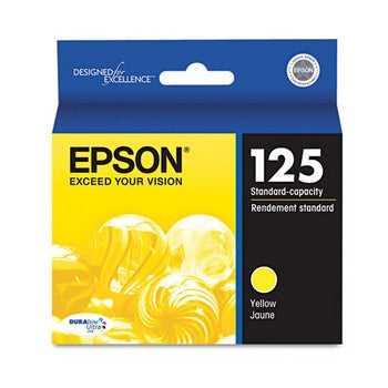 Epson 125 Yellow Ink Cartridge, Epson T125420