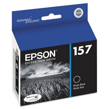 Epson 157 Photo Black Ink Cartridge, Epson T157120