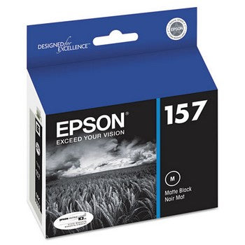 Epson 157 Matte Black Ink Cartridge, Epson T157820