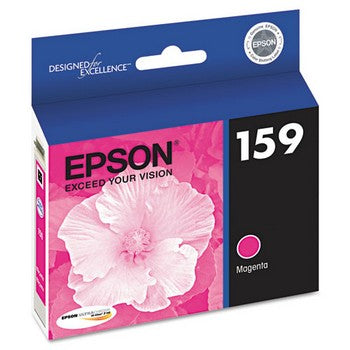 Epson 159 Magenta, High-Gloss Ink Cartridge, Epson T159320