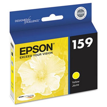 Epson 159 Yellow, High-Gloss Ink Cartridge, Epson T159420