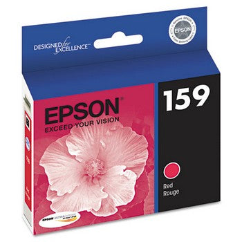 Epson 159 Red, High-Gloss Ink Cartridge, Epson T159720