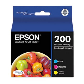 Epson T200520 Cyan, Magenta, Yellow (3/Pack) Ink Cartridge