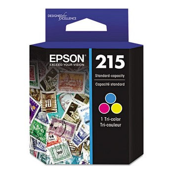 Epson T215 Tri-Color, Ultra Ink Ink Cartridge, Epson T215530
