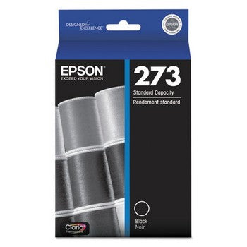 Epson T-273 Black Ink Cartridge, Epson T273020