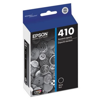 Epson T410 Black, Standard Yield Ink Cartridge, Epson T410020
