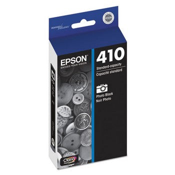 Epson T410 Photo Black, Standrad Yield Ink Cartridge, Epson T410120