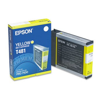 Epson T481 Yellow Ink Cartridge, Epson T481011