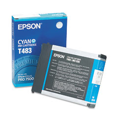 Epson T483 Cyan Ink Cartridge, Epson T483011