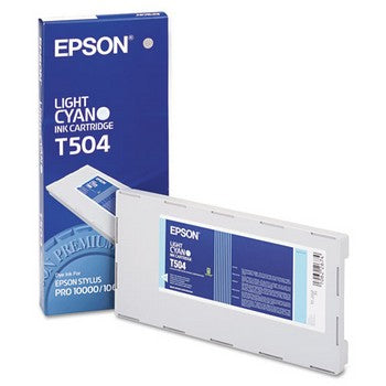 Epson T504 Light Cyan Ink Cartridge, Epson T504011