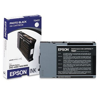 Epson T5431 Black Ink Cartridge, Epson T543100