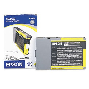 Epson T5434 Yellow Ink Cartridge, Epson T543400