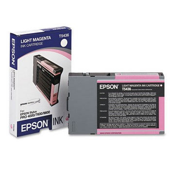 Epson T5436 Light Magenta Ink Cartridge, Epson T543600