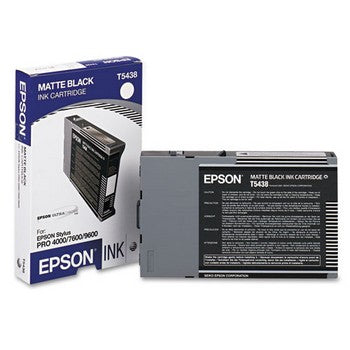 Epson T5438 Matte Black Ink Cartridge, Epson T543800