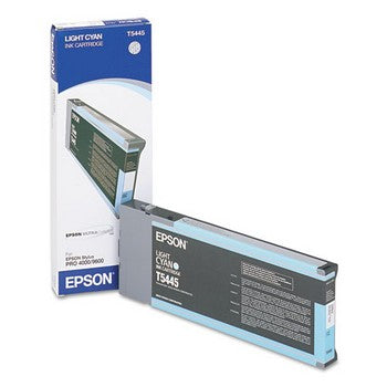 Epson T544500 Light Cyan Ink Cartridge, Epson T544500
